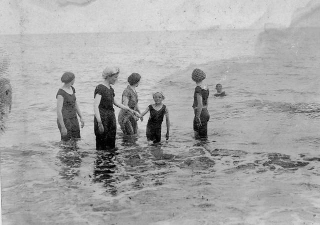 Edwardian bathers