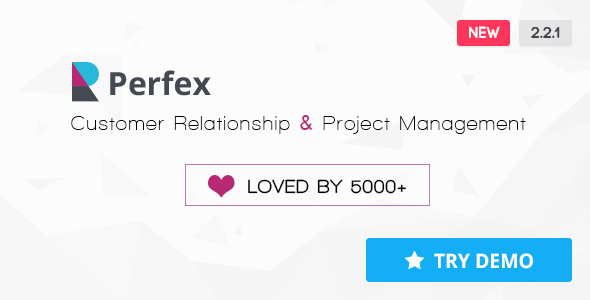 Perfex v2.2.1 – Powerful Open Source CRM