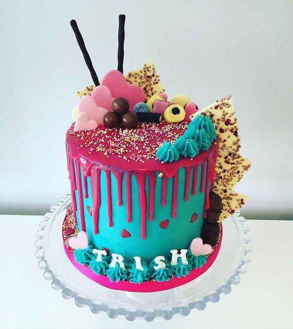 Cake by Sweet's Doughmestic Treats