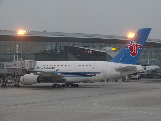 China Southern Airlines Airbus A380 B-6139