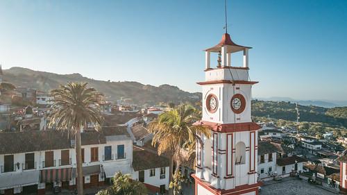 Palacio Municipal clock tower, Cuetzalán
