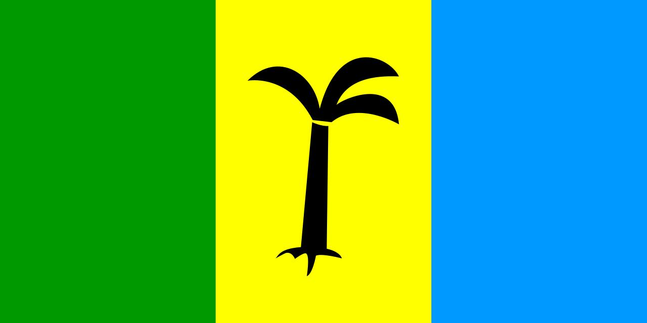 Flag of Saint Christopher-Nevis-Anguilla (1958 - 1983)