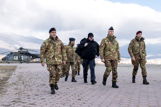 Italian Chief of Defence, General Enzo Vecciarelli, visited KFOR