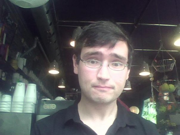 Me in 2009, Linux Caffe