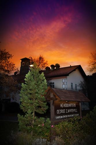 Sunrise at the Marshall Center