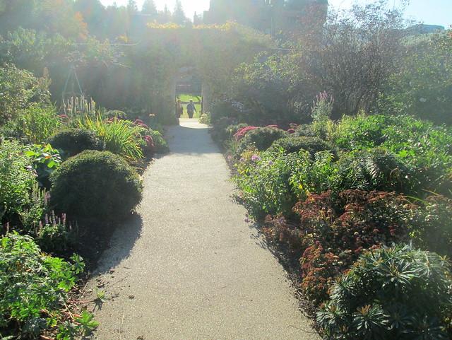 Abbotsford Walled Garden,Sir Walter Scott