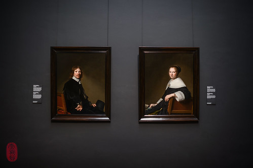 Portraits of Eduard Wallis and Maria van Strijp