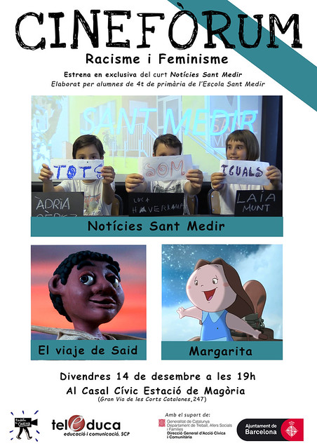 Cartel Cineforum Sant Medir. Final