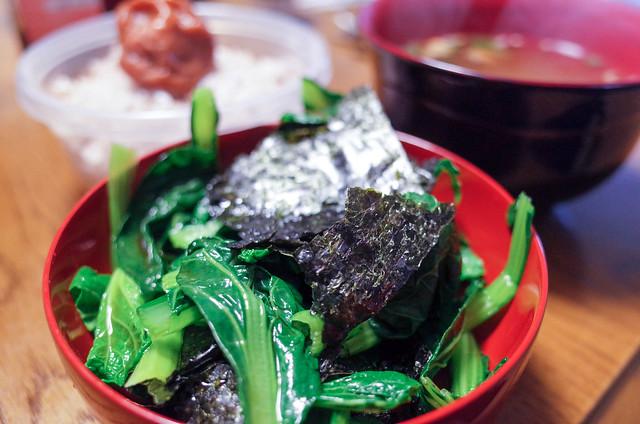 小松菜と海苔 (4 - 4)