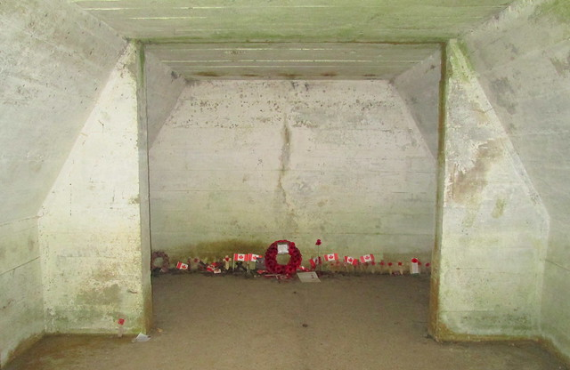 Another Bunker at Essex Farm Cemetery, Ypres