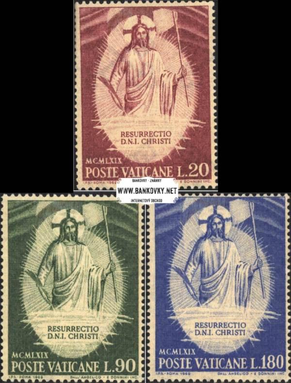 Známky Vatikán 1969 Veľká noc