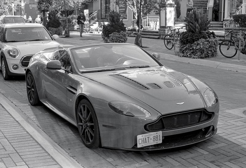 Aston Martin Convertable Sept 2018