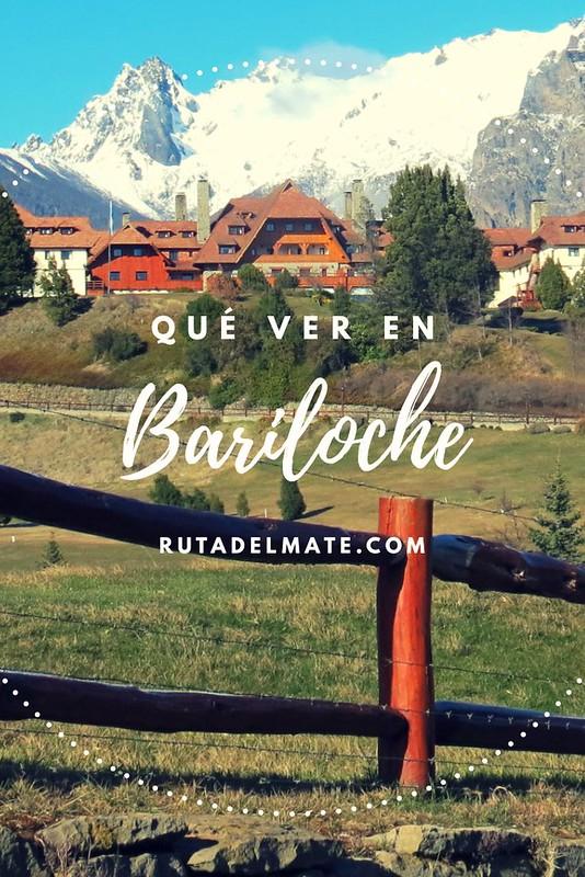 Qué ver en Bariloche para Pinterest