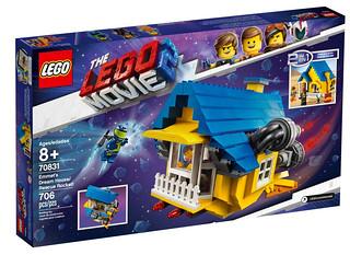 大玩混搭風~題材風格包羅萬象! LEGO 70831、70834、70835、70836、70841《樂高玩電影2》The LEGO Movie 2 Sets 全新電影盒組發表(上)
