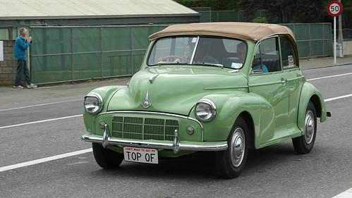 1954 Morris Minor Classic Car.