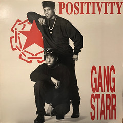 GANG STARR:POSITIVITY(JACKET A)