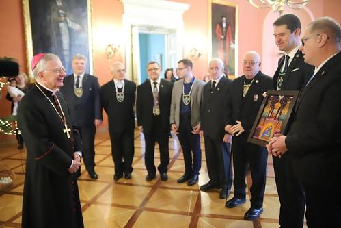 Dzień otwarty w domu arcybiskupów krakowskich | Abp Marek Jędraszewski, 18.12.2018