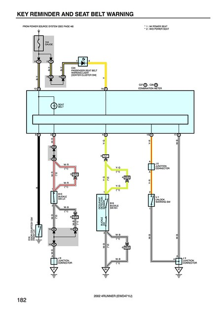 2012 Toyota 4runner Ecu Wiring Harness Diagram Share The ... on