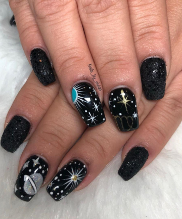 New Favorite Astrology Nail Trend 2019-You Should Get it