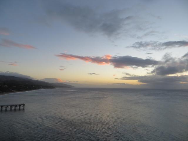 Christmas sunrise in Paradise Cove