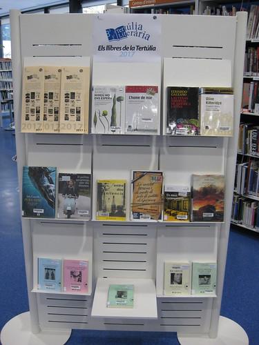 """Exposició """"Els llibres de la terúlia, 2017"""""""