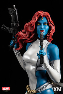 XM Studios Premium Collectibles 系列 Marvel【魔形女】Mystique 1/4 比例全身雕像作品
