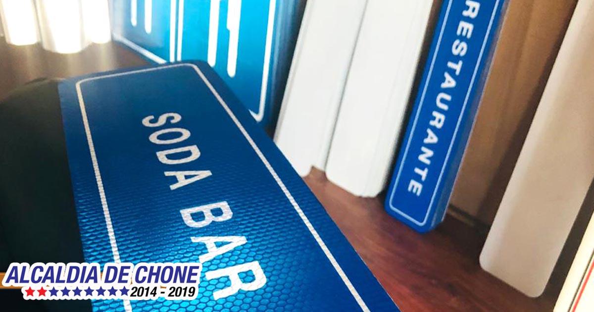 Segunda fase del proyecto de señalización turística de Chone