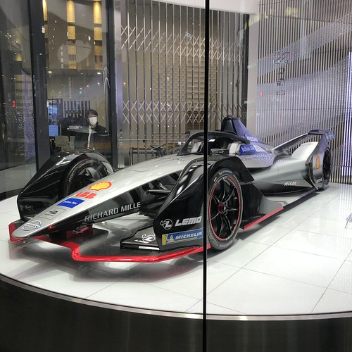 Nissan Gen2 Formula E car