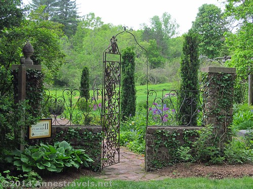 The Cottage Garden at the Willowwood Arboretum, Morris County, New Jersey