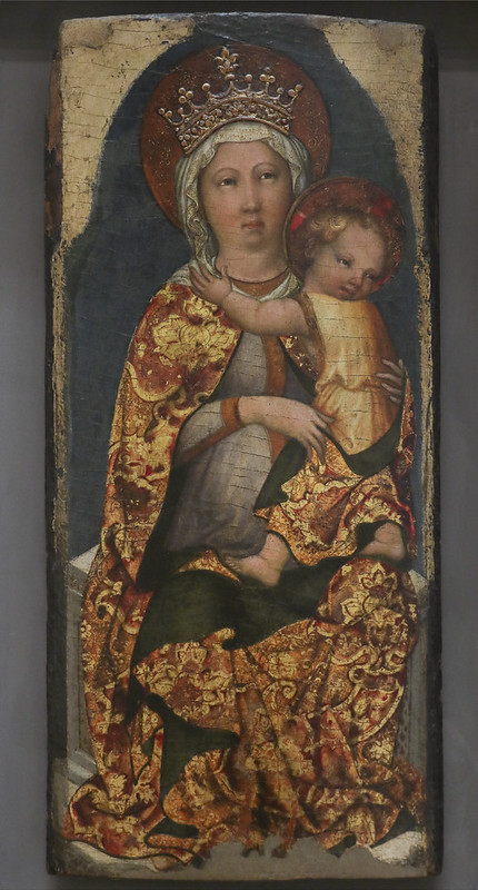 Madonna col Bambino, Michele Giambono, 1420-62
