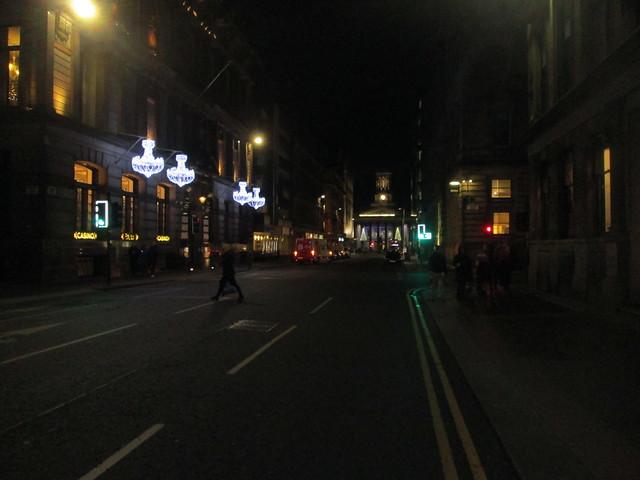 Christmas lights, Glasgow