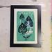 Wonder by Woodie Anderson 4 color screen print handprinted by artist