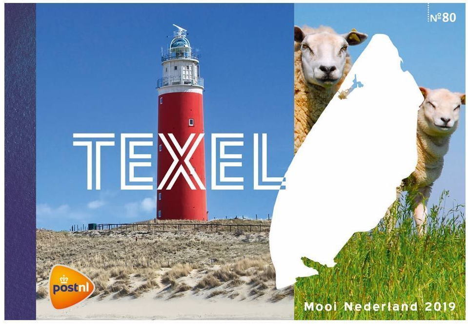 Netherlands - Beautiful Netherlands: Texel (January 2, 2019) prestige booklet