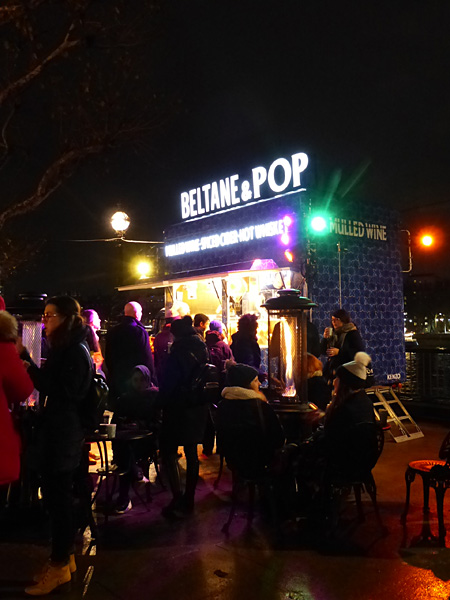 beltane and Pop sur la Tamise