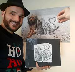 Original drawing from my Pencil Vs Camera series... Dessin original de ma série Pencil Vs Camera...  #pencilvscamera #originalart #artwork #drawing #dessin #art #ane #pencil #donkey #cute #study #funny #artforsale #originaldrawing #collector #artcollector