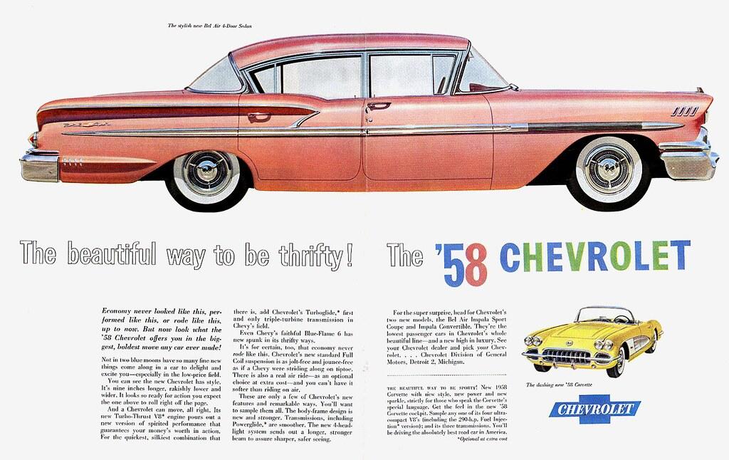 1958 Chevrolet Bel Air 4-Door Sedan