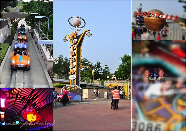 Tomorrowland Hong Kong Disneyland