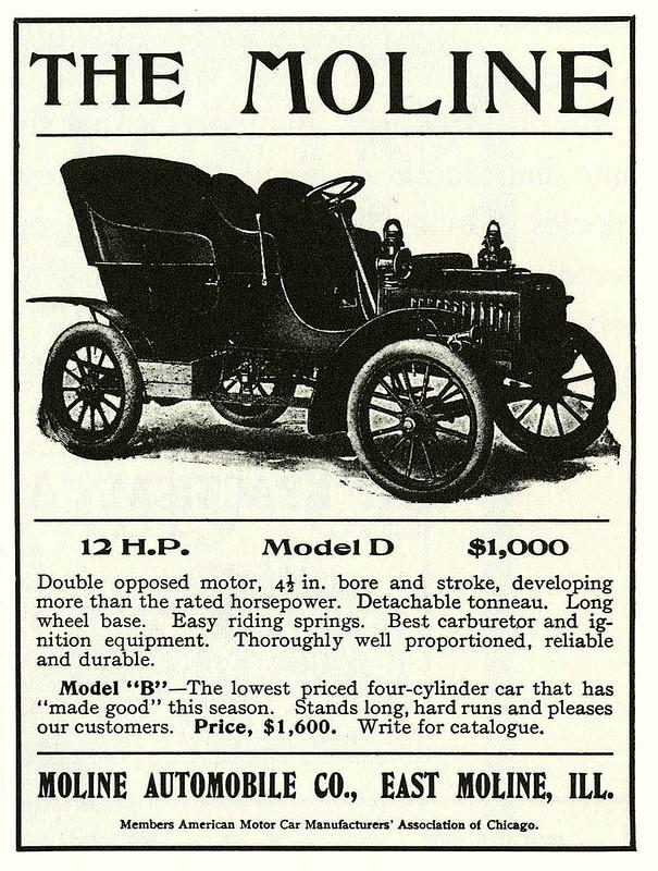 1905 Moline Model D