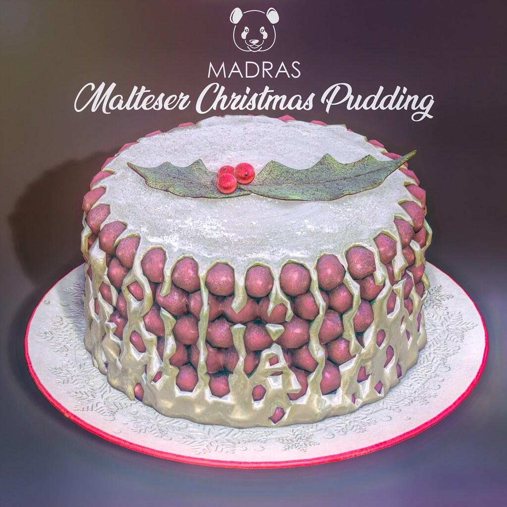 MADRAS Malteser Christmas Pudding