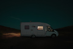 (parked up for the night, north coast Scotland