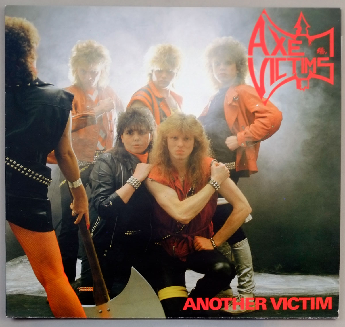 "AXE VICTIMS ANOTHER VICTIM 12"" LP ALBUM VINYL"