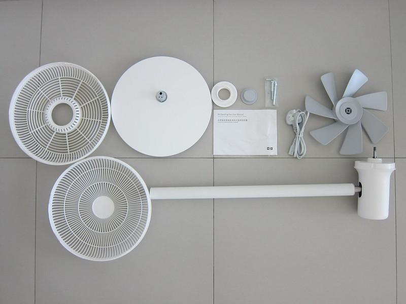 Mi Standing Fan - Box Contents