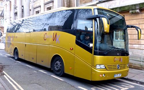 BJ03 JHF 'Coach UK' (Tourline). Mercedes-Benz Touro on Dennis Basford's railsroadsrunways.blogspot.co.uk'