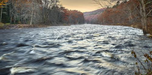 millersriver erving massachusetts westernmass pioneervalley newengland autumninnewengland autumn water longexposure river rapids photography photo landscape landscapephotography