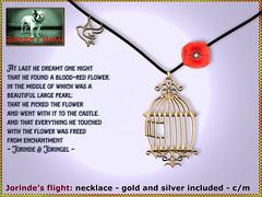 Bliensen - Jorinde's Flight - Necklace