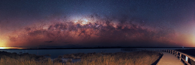 Late Season Milky Way - Lake Clifton, Western Australia