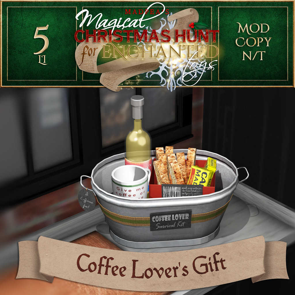 Coffee Lover's Gift MadPea Christmas Hunt Prize!