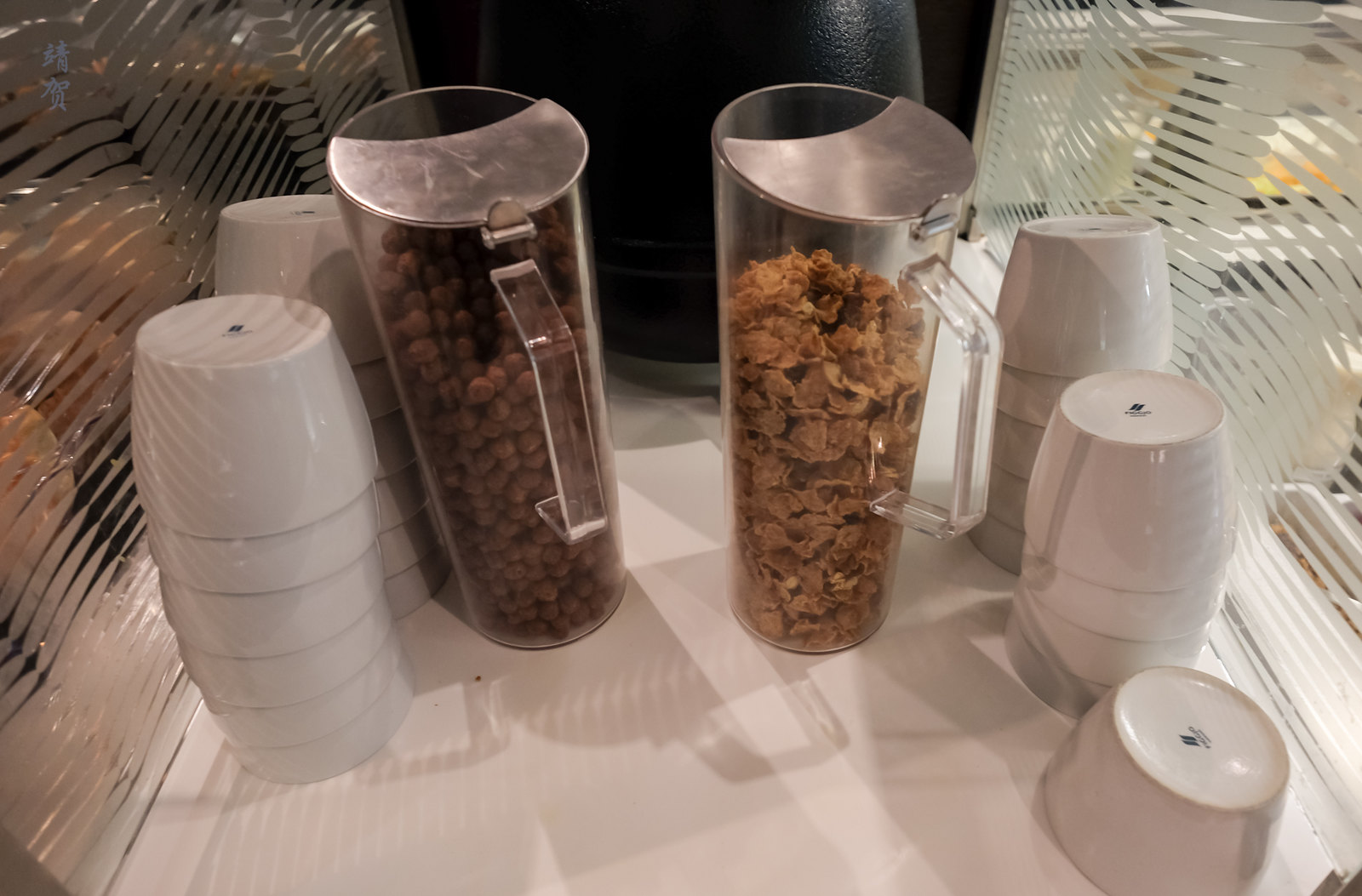 Cereals in jugs