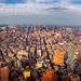 Panorama of New york city view from the top of building by anekphoto