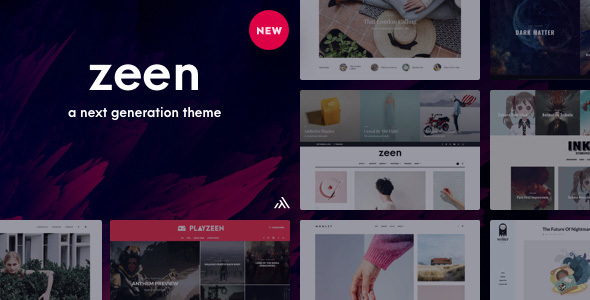 Zeen v2.3.1 - Next Generation Magazine WordPress